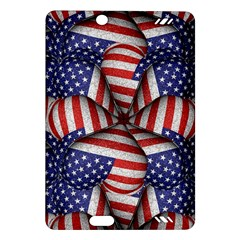 Modern Usa Flag Pattern Kindle Fire HD (2013) Hardshell Case