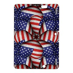 Modern Usa Flag Pattern Kindle Fire HDX 8.9  Hardshell Case