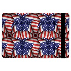 Modern Usa Flag Pattern Apple iPad Air 2 Flip Case