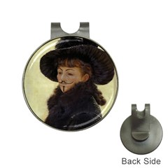 Kathleen Anonymous Ipad Hat Clip With Golf Ball Marker