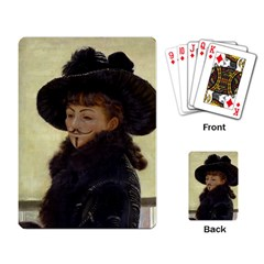 Kathleen Anonymous Ipad Playing Cards Single Design