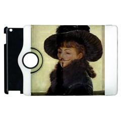 Kathleen Anonymous Ipad Apple iPad 3/4 Flip 360 Case