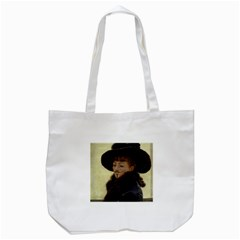 Kathleen Anonymous Ipad Tote Bag (White)