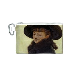 Kathleen Anonymous Ipad Canvas Cosmetic Bag (Small)