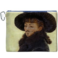 Kathleen Anonymous Ipad Canvas Cosmetic Bag (XXXL)