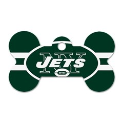 New York Jets National Football League Nfl Teams Afc Dog Tag Bone (Two Sided)