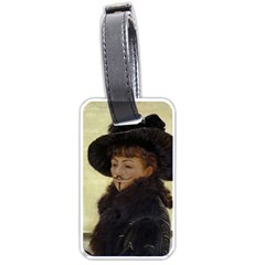 Kathleen Anonymous Ipad Luggage Tag (Two Sides)