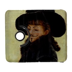 Kathleen Anonymous Ipad Samsung Galaxy S  III Flip 360 Case