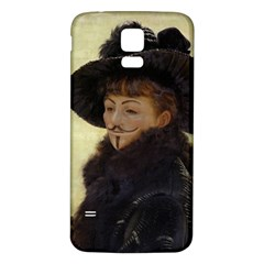 Kathleen Anonymous Ipad Samsung Galaxy S5 Back Case (White)