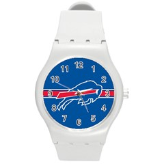 Buffalo Bills National Football League Nfl Teams Afc Plastic Sport Watch (Medium)
