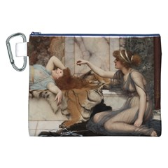 Godwardmischiefandanonipad Canvas Cosmetic Bag (XXL)