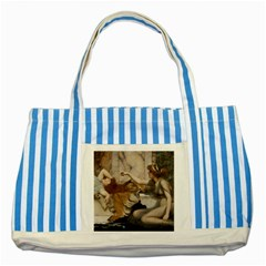 Godwardmischiefandanonipad Blue Striped Tote Bag