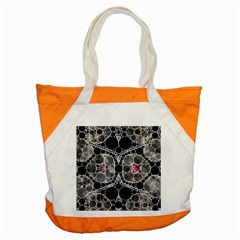 Bling Black Grey  Accent Tote Bag