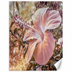 Fantasy Colors Hibiscus Flower Digital Photography Canvas 12  X 16  (unframed)