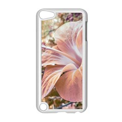 Fantasy Colors Hibiscus Flower Digital Photography Apple iPod Touch 5 Case (White)