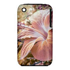 Fantasy Colors Hibiscus Flower Digital Photography Apple iPhone 3G/3GS Hardshell Case (PC+Silicone)