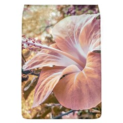 Fantasy Colors Hibiscus Flower Digital Photography Removable Flap Cover (large)