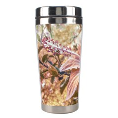 Fantasy Colors Hibiscus Flower Digital Photography Stainless Steel Travel Tumbler