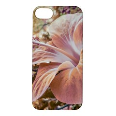 Fantasy Colors Hibiscus Flower Digital Photography Apple iPhone 5S Hardshell Case