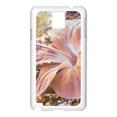Fantasy Colors Hibiscus Flower Digital Photography Samsung Galaxy Note 3 N9005 Case (white)