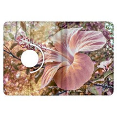 Fantasy Colors Hibiscus Flower Digital Photography Kindle Fire HDX Flip 360 Case