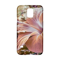 Fantasy Colors Hibiscus Flower Digital Photography Samsung Galaxy S5 Hardshell Case