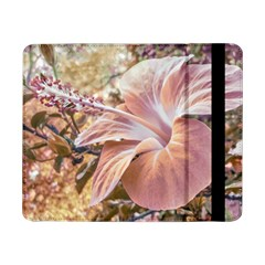 Fantasy Colors Hibiscus Flower Digital Photography Samsung Galaxy Tab Pro 8 4  Flip Case