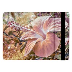 Fantasy Colors Hibiscus Flower Digital Photography Samsung Galaxy Tab Pro 12.2  Flip Case