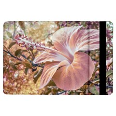 Fantasy Colors Hibiscus Flower Digital Photography Apple iPad Air Flip Case