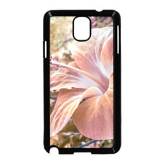 Fantasy Colors Hibiscus Flower Digital Photography Samsung Galaxy Note 3 Neo Hardshell Case (Black)