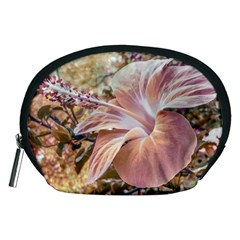 Fantasy Colors Hibiscus Flower Digital Photography Accessory Pouch (Medium)