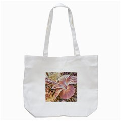 Fantasy Colors Hibiscus Flower Digital Photography Tote Bag (White)