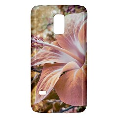 Fantasy Colors Hibiscus Flower Digital Photography Samsung Galaxy S5 Mini Hardshell Case