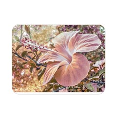 Fantasy Colors Hibiscus Flower Digital Photography Double Sided Flano Blanket (mini)