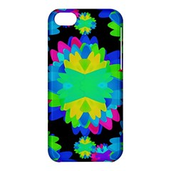 Multicolored Floral Print Geometric Modern Pattern Apple Iphone 5c Hardshell Case