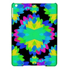 Multicolored Floral Print Geometric Modern Pattern Apple iPad Air Hardshell Case
