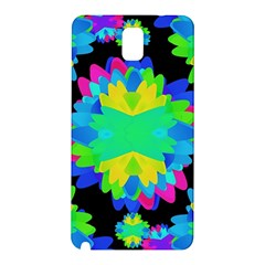 Multicolored Floral Print Geometric Modern Pattern Samsung Galaxy Note 3 N9005 Hardshell Back Case