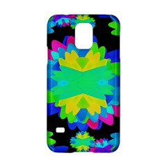 Multicolored Floral Print Geometric Modern Pattern Samsung Galaxy S5 Hardshell Case