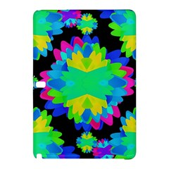 Multicolored Floral Print Geometric Modern Pattern Samsung Galaxy Tab Pro 10.1 Hardshell Case
