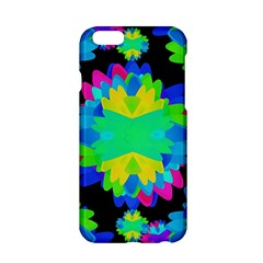 Multicolored Floral Print Geometric Modern Pattern Apple iPhone 6 Hardshell Case