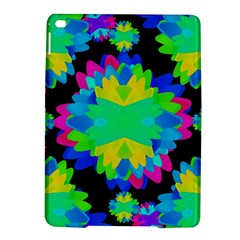 Multicolored Floral Print Geometric Modern Pattern Apple iPad Air 2 Hardshell Case