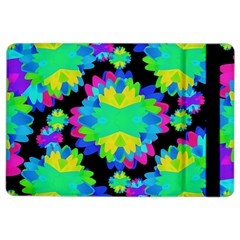 Multicolored Floral Print Geometric Modern Pattern Apple iPad Air 2 Flip Case