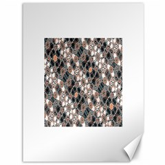 Modern Arabesque Pattern Print Canvas 36  x 48  (Unframed)