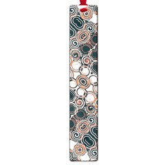 Modern Arabesque Pattern Print Large Bookmark