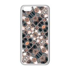 Modern Arabesque Pattern Print Apple iPhone 5C Seamless Case (White)