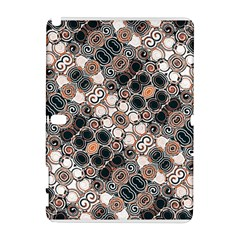 Modern Arabesque Pattern Print Samsung Galaxy Note 10.1 (P600) Hardshell Case