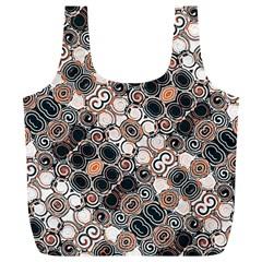 Modern Arabesque Pattern Print Reusable Bag (XL)