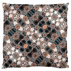 Modern Arabesque Pattern Print Standard Flano Cushion Case (one Side)