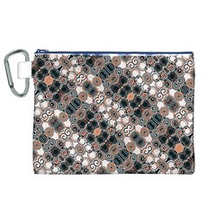 Modern Arabesque Pattern Print Canvas Cosmetic Bag (XL)
