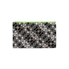 Modern Arabesque Pattern Print Cosmetic Bag (XS)
